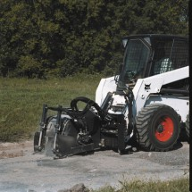 Fréza na asfalt